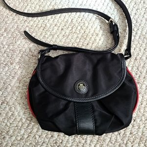 Lancel Paris black crossbody bag